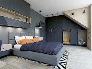 Pokój Kacpra - Poddasze - zdjęcie od NEFA Architekci