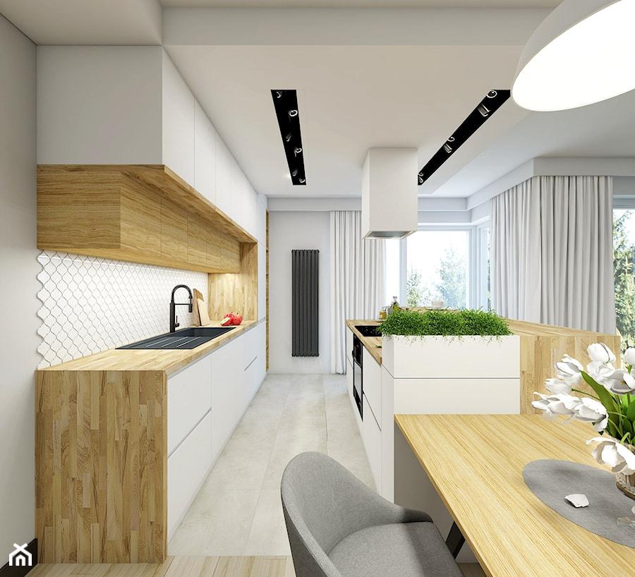 Aranżacje wnętrz - Kuchnia: Kuchnia Pearl - NEFA Architekci . Przeglądaj, dodawaj i zapisuj najlepsze zdjęcia, pomysły i inspiracje designerskie. W bazie mamy już prawie milion fotografii!