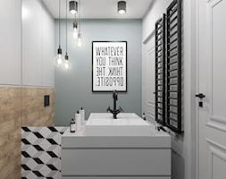Łazienka w stylu skandynawskim - zdjęcie od NEFA Architekci