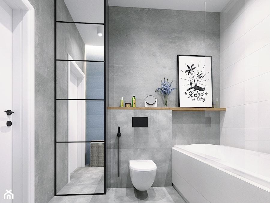 Warszawa Villa S Projekt łazienki Chłopców Zdjęcie Od