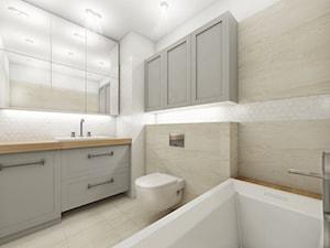 Łazienka z mozaiką