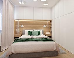 Sypialnia z zielenią. - zdjęcie od NEFA Architekci