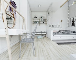 Sypialnia+w+stylu+skandynawskim+-+widok+na+toaletk%C4%99.+-+zdj%C4%99cie+od+NEFA+Architekci