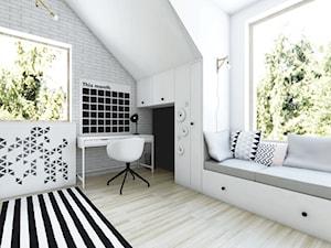 Sypialnia Wiki - Styl skandynawski - zdjęcie od NEFA Architekci