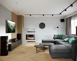 KOZ-01 Salon - zdjęcie od NEFA Architekci - Wnętrza - Homebook