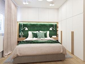 Sypialnia z zielenią