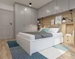 Sypialnia Z Półkami Na ścianie Aranżacje Pomysły