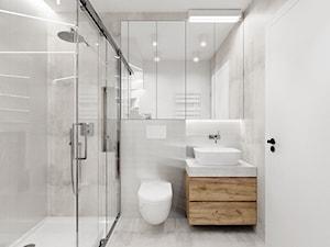 Łazienka pod schodami - zdjęcie od NEFA Architekci