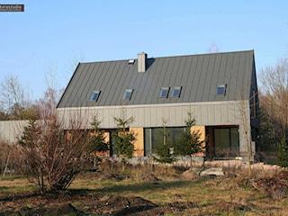 Budynek jednorodzinny Żółtki. Nowoczesna stodoła.