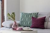 fioletowa poduszka