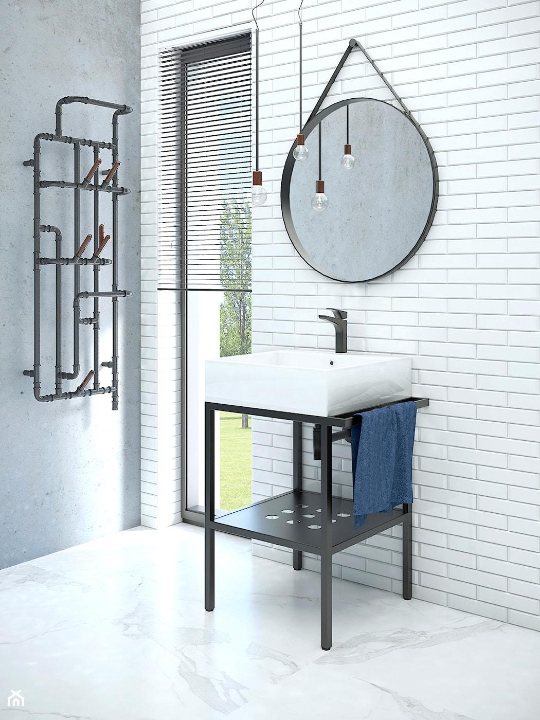 łazienka W Stylu Industrialnym Homebook