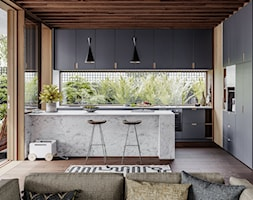 RAUVISIO noir - Kuchnia, styl nowoczesny - zdjęcie od REHAU - Homebook