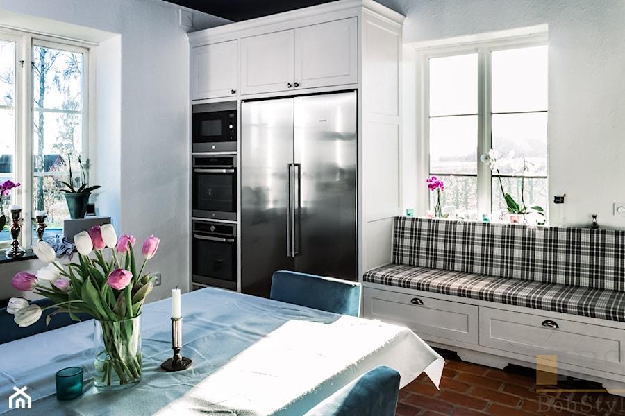 Kuchnia Biala Realizacja Szwecja Mala Otwarta Biala Kuchnia