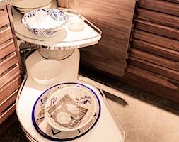 Kuchnia Nowoczesna Orzech Amerykanski Projekt Wnetrza