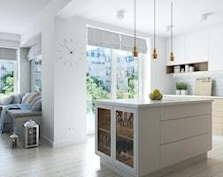 Kuchnia styl Skandynawski - zdjęcie od CUSTOM PLUS Pracownia projektowa