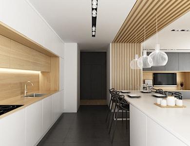 Kuchnia styl Nowoczesny - zdjęcie od CUSTOM PLUS Pracownia projektowa