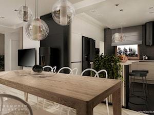 Wnętrze domu jednorodzinnego w stylu nowoczesnym