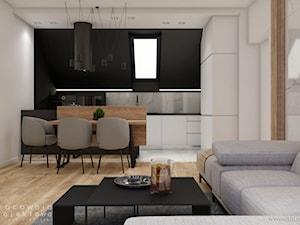 Mieszkanie w stylu nowoczesnym na poddaszu