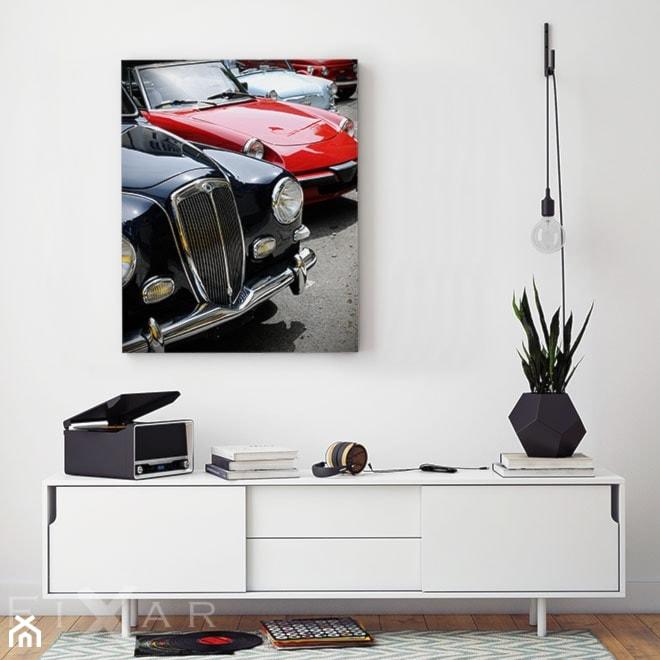 Aranżacje wnętrz - Salon: Świat czterech kółek - Fixar PL. Przeglądaj, dodawaj i zapisuj najlepsze zdjęcia, pomysły i inspiracje designerskie. W bazie mamy już prawie milion fotografii!