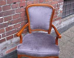 Krzes%C5%82o+tapicerowane+-+zdj%C4%99cie+od+Dekoracja+Okna+Serwis