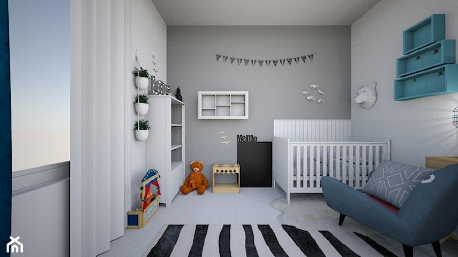 Aranżacje wnętrz - Pokój dziecka: Pokój dla chłopca - LULU Kids Design. Przeglądaj, dodawaj i zapisuj najlepsze zdjęcia, pomysły i inspiracje designerskie. W bazie mamy już prawie milion fotografii!