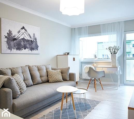Mały salon – jakie kolory ścian wybrać? 6 barw, które optycznie powiększą przestrzeń