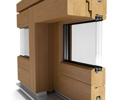 Okna drewniane - Nowoczesne domy, styl nowoczesny - zdjęcie od Witraż Sp. z o. o. Okna i Drzwi - Homebook