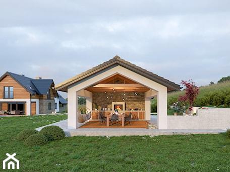 Aranżacje wnętrz - Ogród: altana ogrodowa - BAK Architekci. Przeglądaj, dodawaj i zapisuj najlepsze zdjęcia, pomysły i inspiracje designerskie. W bazie mamy już prawie milion fotografii!