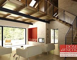 dom na Jurze2 - Salon, styl industrialny - zdjęcie od BAK Architekci - Homebook