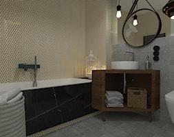 żółta łazienka Aranżacje Pomysły Inspiracje Homebook