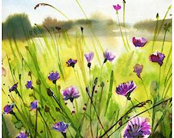 kwiaty - Sypialnia, styl rustykalny - zdjęcie od bruniewska.com - Homebook