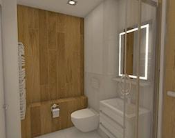 łazienka Czechowice Dziedzice Projekt Wnętrza Mieszkalnego