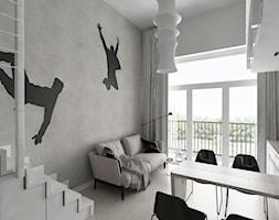 Loft z antresolą - zdjęcie od Piotr Skorupski Studio Architektury