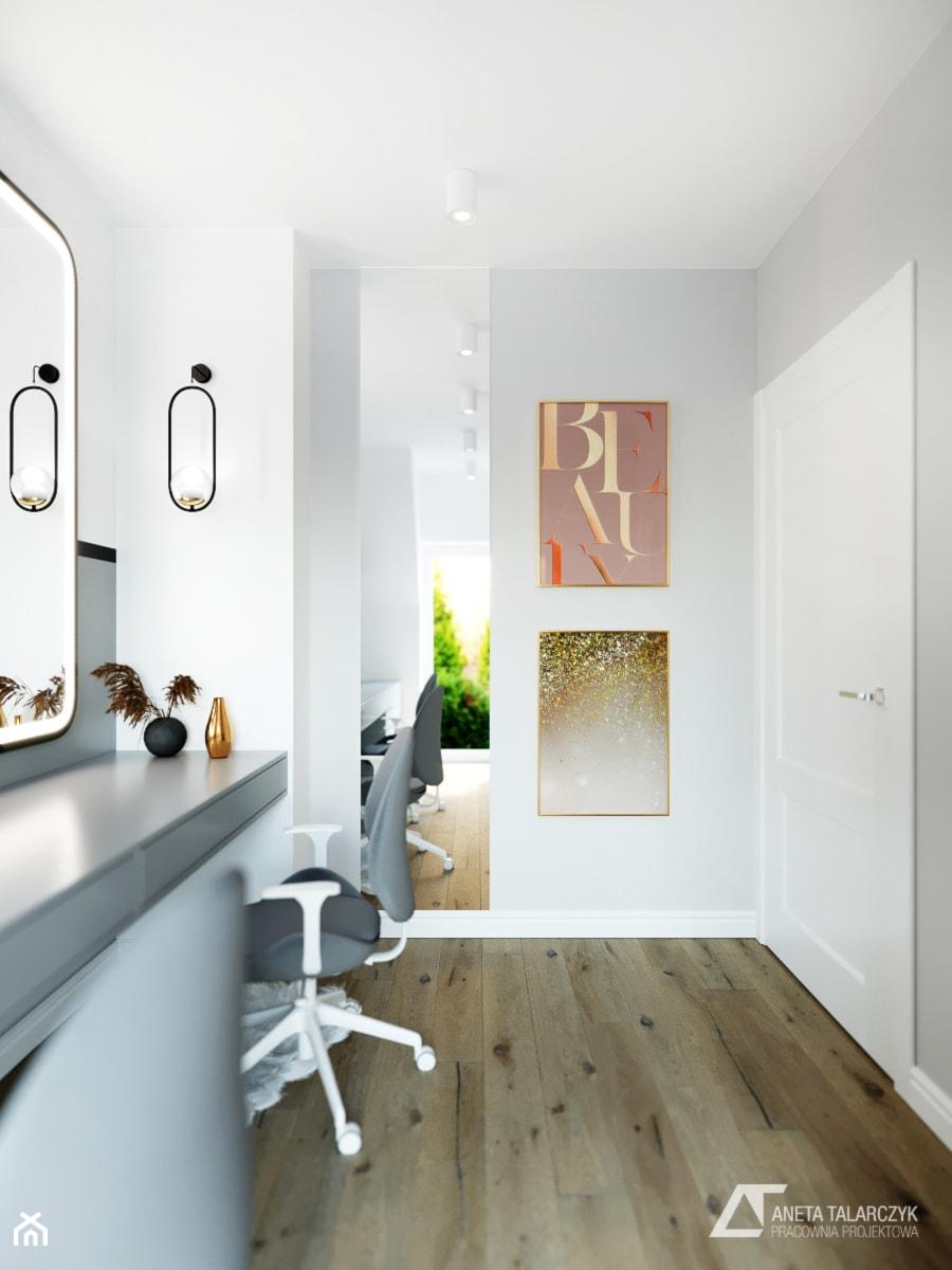 Projekt gabinetu w domku szeregowym - zdjęcie od Aneta Talarczyk Pracownia Projektowa