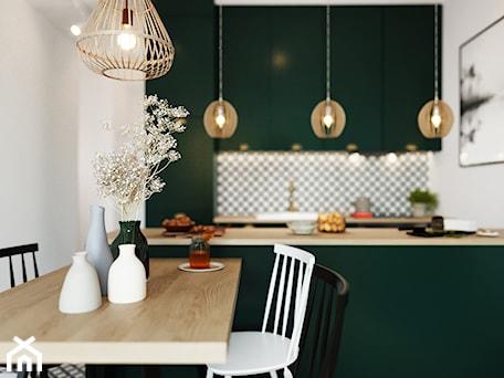 Aranżacje wnętrz - Kuchnia: Projekt kuchni - Aneta Talarczyk Pracownia Projektowa. Przeglądaj, dodawaj i zapisuj najlepsze zdjęcia, pomysły i inspiracje designerskie. W bazie mamy już prawie milion fotografii!