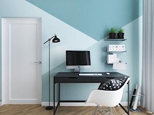 Biuro połączone z pokojem gościnnym - zdjęcie od Aneta Talarczyk Pracownia Projektowa