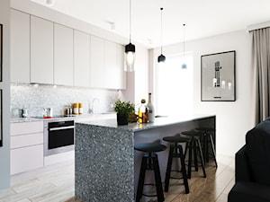 Projekt mieszkania z pudrowo-różowym akcentem - Wrocław - zdjęcie od Aneta Talarczyk Pracownia Projektowa