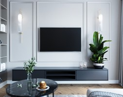 Projekt eleganckiego mieszkania - Warszawa - zdjęcie od Aneta Talarczyk Pracownia Projektowa - Homebook