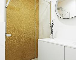 Jedności Narodowej, Wrocław - Średnia biała łazienka, styl nowoczesny - zdjęcie od Aneta Talarczyk Pracownia Projektowa