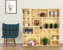 Półki Ze Skrzynek Drewnianych Zdjęcie Od Modo24pl Homebook
