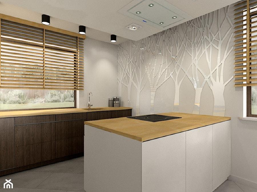 kuchnia z aneksem - zdjęcie od FLUO design