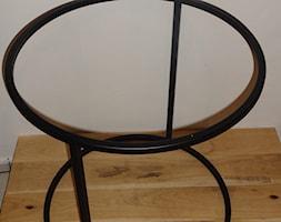Metalowy Stelaż pod stolik - Ogrągły - zdjęcie od TechnoMet - Homebook