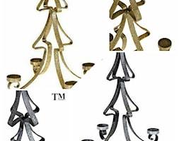 Metalowa Choinka Świecznik - zdjęcie od TechnoMet - Homebook