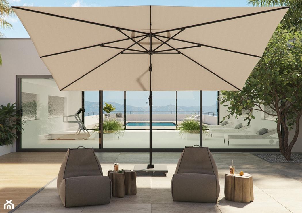 nowoczesny parasol ogrodowy