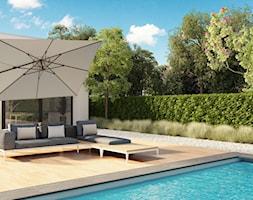Parasole ogrodowe - Taras, styl nowoczesny - zdjęcie od Garden Space - Homebook