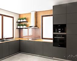 Green spaces kuchnia - zdjęcie od 1mm. studio