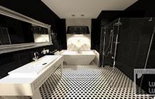 Łazienka styl Glamour - zdjęcie od Interior LULU Studio Projektowe