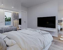 SŁOWACKIEGO - Sypialnia, styl nowoczesny - zdjęcie od ARCHIWYTWÓRNIA Tomek Pytel - Homebook