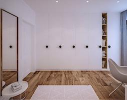 Piotra Skargi - Średni biały pokój dziecka dla chłopca dla dziewczynki dla ucznia dla nastolatka, styl skandynawski - zdjęcie od ARCHIWYTWÓRNIA Tomek Pytel