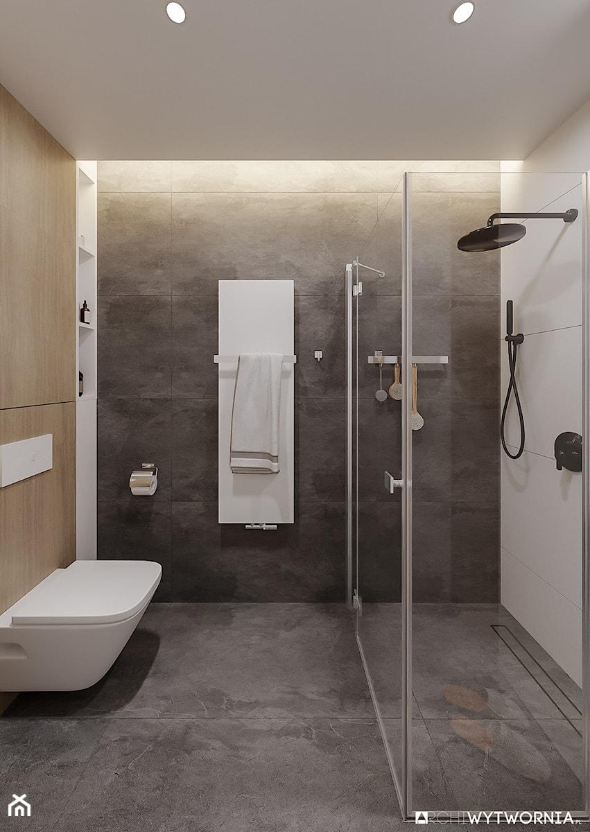 Działki łazienka Styl Nowoczesny Zdjęcie Od